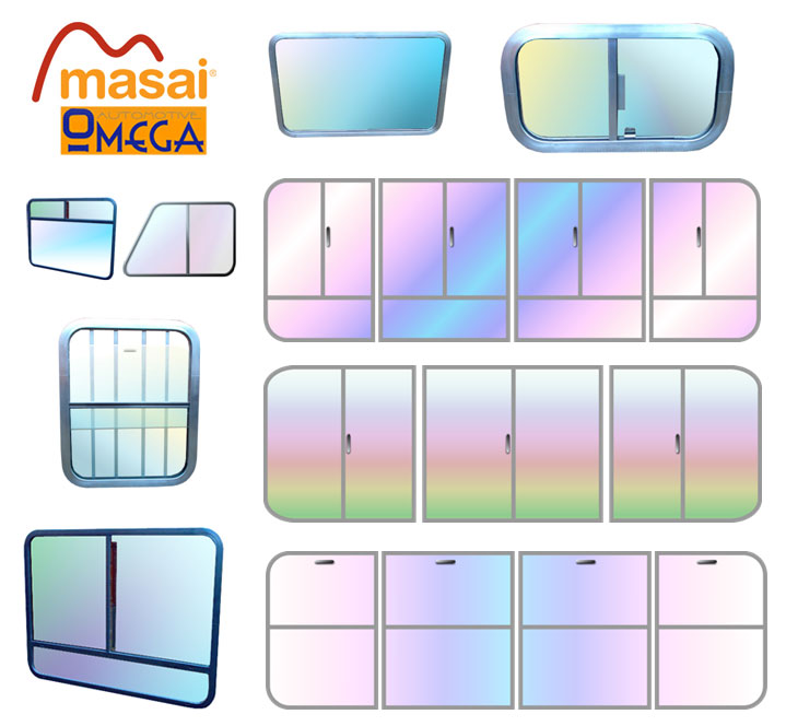 horsebox windows by Masai Omega Automotive