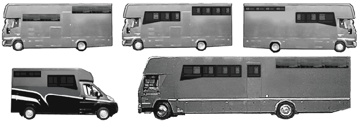 Bonded Horsebox Windows