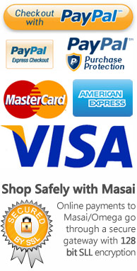 Shop Safely in the Masai - 128 bit encryption security